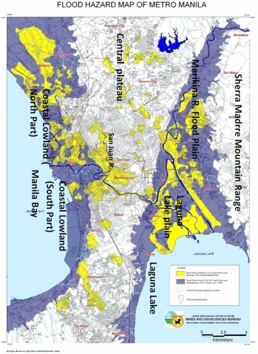 10 1  The hydrological and geophysical environment of the Metro Manila